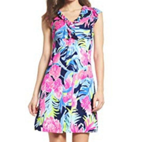 Lilly Pulitzer Dresses & Skirts - NWT Lilly Pulitzer Clare Silk Jersey Dress